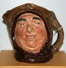 LARGE ROYAL DOULTON CHARACTER TOBY JUG FRIAR TUCK D6321* EXCELLENT CONDITION *