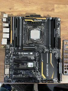 Motherboard, Cpu and Ram bundle (i7 5930k, gigabyte ga-x99-ud5 wifi, 32gb ddr4 c