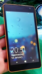 Microsoft Lumia 535 - 8GB - (Unlocked to Any Net) Smartphone Excellent Condition