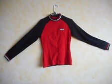 Sportful Women's Long Sleeve Midweight Cycling Jersey Red/Blk $120
