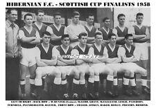 HIBERNIAN F.C. TEAM PRINT 1958  - HIBS