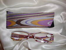 Reading Glasses - Purple Swirly 125 (0/)