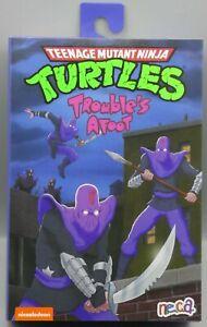 GENUINE - NECA Teenage Mutant Ninja Turtles ULTIMATE FOOT SOLDIER TMNT Cartoon