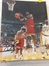 AUTOGRAPHED  PHOTO Eddy Curry