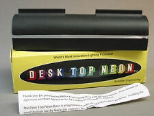 MILLER ENGINEERING DESK TOP NEON # 002 DTN SIGN BASE train track bill 002 NEW