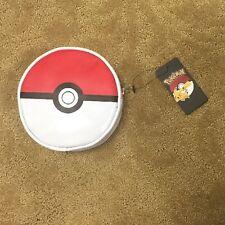 Nintendo Pokemon Pokeball Round Cosmetic Makeup Bag