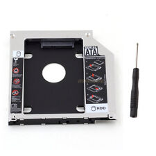 "2nd SATA HDD SSD Hard Drive Unibody Caddy for MacBook Pro 13"" 15"" 17"" 2009 2010"