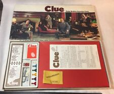 Vintage 1972 Clue Board Detective Game Complete Instructions Good Condition