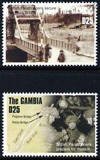 WWII D-Day British Parachute Regiment / Paratroopers Take PEGASUS BRIDGE Stamps