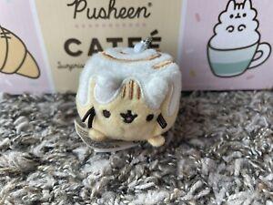 Gund Pusheen Blind Box CINNAMON ROLL Catfe Series 16 Opened Plush Cat