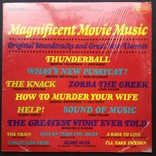 Rare! MAGNIFICENT MOVIE MUSIC soundtracks LP 1967 Hefti Barry 007 Bond Ortolani