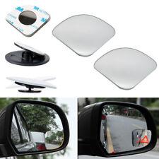 2pcs HD 360° View Car Adjustable Blind Spot Wide Angle Rear Fan Mirror #1009