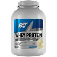 GAT Whey Isolate Blend Muscle Protein Powder 5 lbs, 68 Servings VANILLA SALE