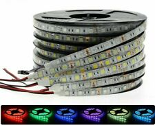 RGB LED Strip Light 2835/5050 SMD 5-15M DC12V Ribbon Flexible Controller+Adapter