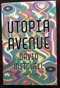 DAVID MITCHELL Utopia Avenue HB + DJ