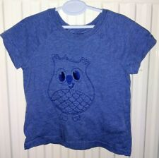 Baby boys H&M owl embroidered t-shirt top 3-6 months