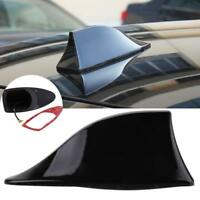 Black Universal Auto Car Roof Radio AM/FM Signal Shark Fin Aerial Antenna NEW ZH