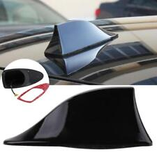 Black Universal Auto Car Roof Radio AM/FM Signal Shark Fin Aerial Antenna NEW GA
