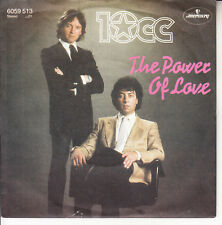 """10CC 10 C.C. The Power Of Love PICTURE SLEEVE 7"""" 45 + juke box title strip NEW"""
