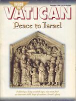 Inside the Vatican December 1998 Peace to Israel December 1998 VG 062416DBE