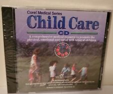 Corel Medical Series Child Care 1996 CD Windows 3.1 | 95 | IBM | NEW SEALED