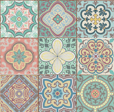 Traditional Modern Art Tile Transfers Stickers Vintage Victorian Moroccan Mosaic