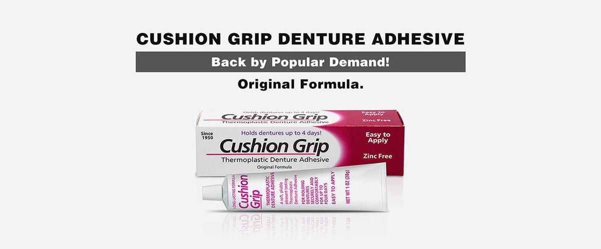 Cushion Grip Denure Adhesive