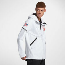 Nike Tech Fleece Team USA Windrunner Men's Jacket S M L XL White Gym Casual New