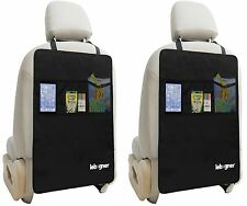 Kick Mat Auto Seat Back Protectors + Organizer Pockets, X-Large, 2 Pack