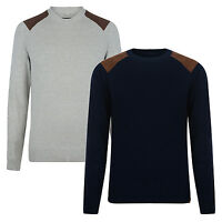 New BLEND Men's Casual Fit Cotton Knit Crew Neck Jumper Pullover Sweater Top
