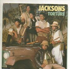 """JACKSONS 45 RPM Record w/ Picture Sleeve  """"TORTURE""""  Unplayed MINT   Michael"""