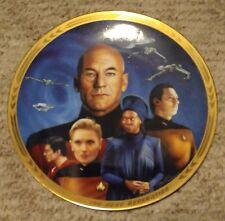 Star Trek Hamilton Collection Collector Plate (Yesterday's Enterprise)