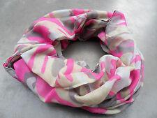 SALE.....Tuch Damen LOUP Camouflage Schal PINK  Halstuch   T13