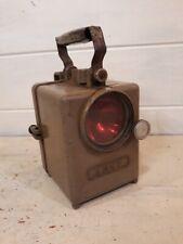 Ancienne lanterne Lampe SNCF WONDER - Vintage railway Lantern Lamp