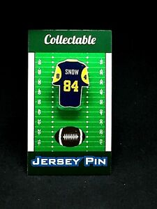 Los Angeles Rams Jack Snow jersey lapel pin-Classic team Collectable