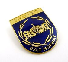 Inter-Parliamentary Union IPU 1980 Conference  Norway Delegation Pin Badge