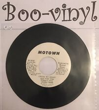 """Diana Ross  Promo Cryin' My Heart Out For You Motown / Soul Rare Promo 7"""" Ex"""