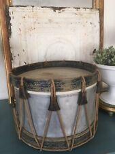 Vintage Drum .Marked Couesnon La Fayette Paris.