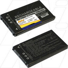 3.7V 700mAh Replacement Battery Compatible with Kyocera BP-780S