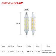 R7S J78 J118 LED Flood Light Corn Bulbs SMD2835 Replaces Halogen Lamp 110V 220V