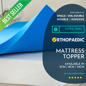 Extra Firm Mattress Topper Extra Firm ORTHOPAEDIC Pain Free Health Topper - MT02
