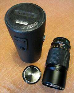 Objectif Konica Hexanon Compact AR 200mm /f4