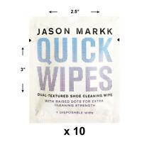 Jason Markk Unisex 10 Essential Shoe Cleaning Wipes White (1 Pk. of 10) Sneak...