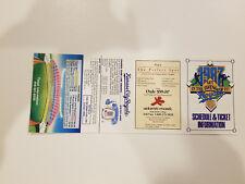 Kansas City Royals 1987 MLB Baseball Pocket Schedule - Adam's Mark