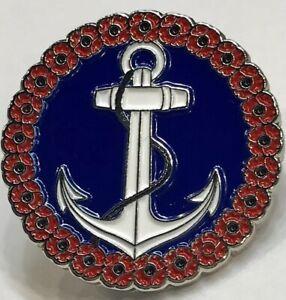 Naval Services Anchor Ship/Navy Lapel Badge