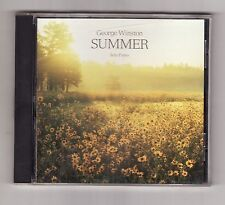 SUMMER by George Winston (Windham Hill Records--10/91) CD  ~Piano Soloist~