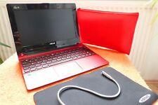 Asus Eee PC x101 netbook rojo L SSD i móvil liviandad l batería nuevo l extras