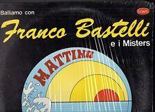 FRANCO BASTELLI e I MISTERS disco LP 33 g. MATTINO made in ITALY