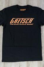 Gretsch That Great Gretsch Sound Orange Logo T-Shirt Black Medium (M) Tee Shirt