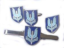SAS Special Air Service Cufflinks, Badge, Tie Clip Military Gift Set
